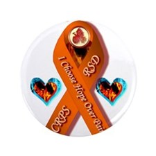 "I Choose Hope Over Pain CRPS RSD RIbbo 3.5"" Button"