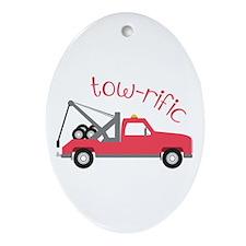 Tow-Rific Ornament (Oval)