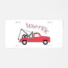 Tow-Rific Aluminum License Plate