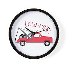 Tow-Rific Wall Clock