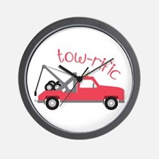 Tow-Rific Wall Clock