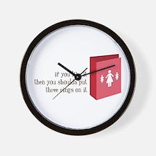 Like It Wall Clock