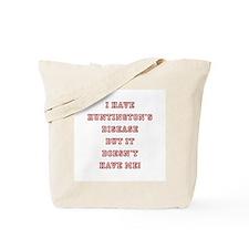 HUNTINGTON'S DISEASE Tote Bag