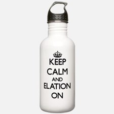 Keep Calm and ELATION Water Bottle