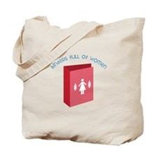 Full Of Women Tote Bag