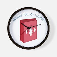Full Of Women Wall Clock