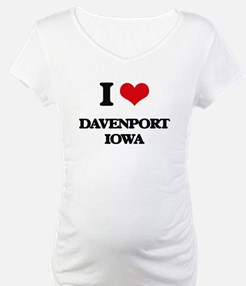 I love Davenport Iowa Shirt