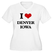 I love Denver Plus Size T-Shirt