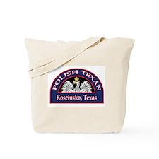 Kosciusko Polish Texan Tote Bag