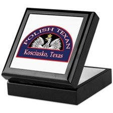 Kosciusko Polish Texan Keepsake Box