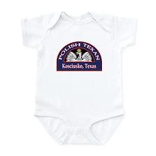 Kosciusko Polish Texan Infant Bodysuit