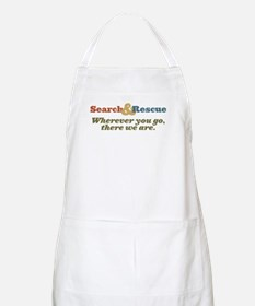 Wherever You Go, There We Are. BBQ Apron