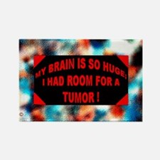 Cute Brain tumor Rectangle Magnet