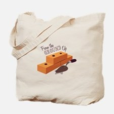 Ground Up Tote Bag