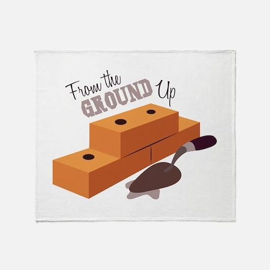 Ground Up Throw Blanket
