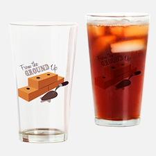 Ground Up Drinking Glass