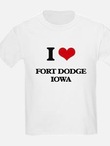 I love Fort Dodge Iowa T-Shirt