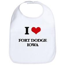 I love Fort Dodge Iowa Bib