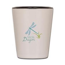 Dancing Dragon Shot Glass