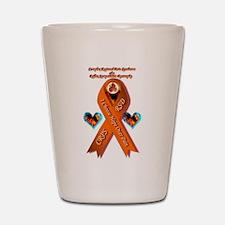 I Choose Hope Over Pain CRPS RSD Phoeni Shot Glass