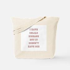 CELIAC DISEASE Tote Bag