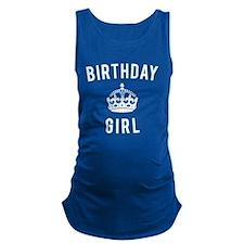 Birthday Girl Maternity Tank Top