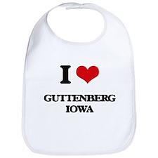 I love Guttenberg Iowa Bib
