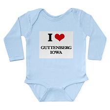 I love Guttenberg Iowa Body Suit