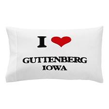 I love Guttenberg Iowa Pillow Case