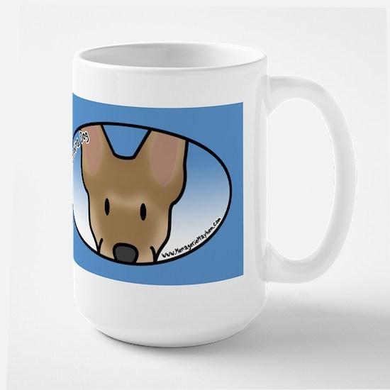 Anime Carolina Dog Stainless Steel Travel Mugs