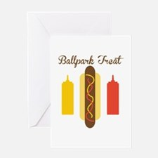 Ballpark Treat Greeting Cards