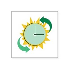 Time Change Sticker