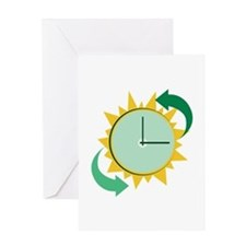 Time Change Greeting Cards