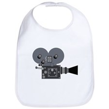 Movie Camera Bib