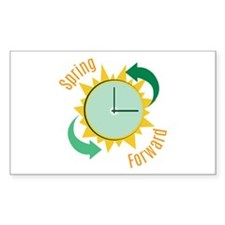 Spring Forward Decal
