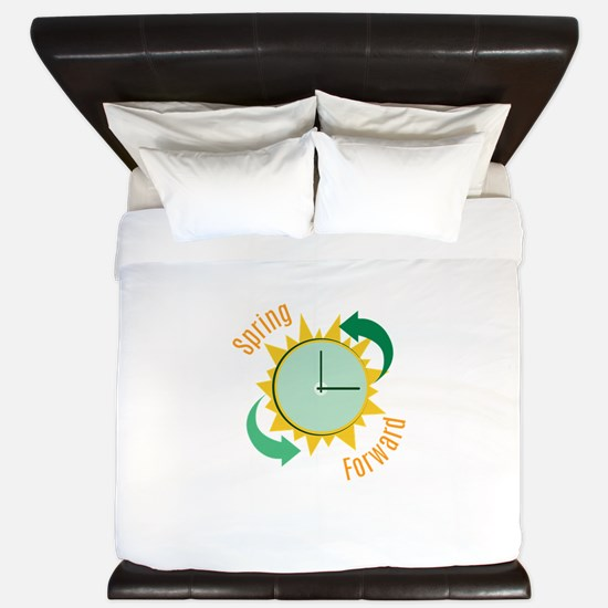Spring Forward King Duvet
