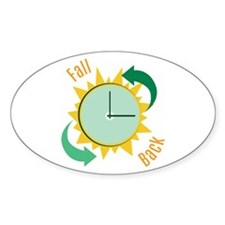 Fall Back Decal