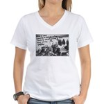 Opium Den Fraternity Women's V-Neck T-Shirt