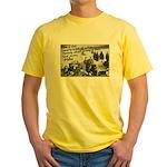 Opium Den Fraternity Yellow T-Shirt