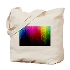ombre rainbow Tote Bag