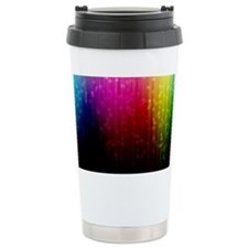 ombre rainbow Travel Mug