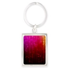 ombre rainbow Keychains