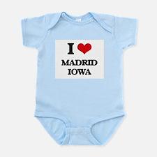 I love Madrid Iowa Body Suit