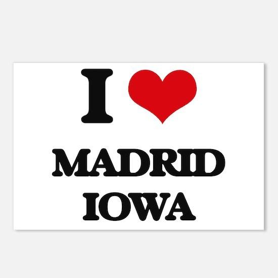 I love Madrid Iowa Postcards (Package of 8)