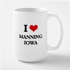 I love Manning Iowa Mugs