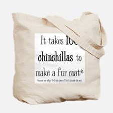Chinchilla Coat Tote Bag