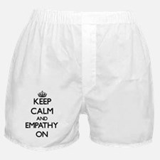 Keep Calm and EMPATHY ON Boxer Shorts