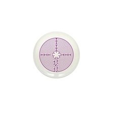 Chartres Labyrinth (small) Mini Button (100 pack)