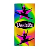 Personalized dance Beach Towels