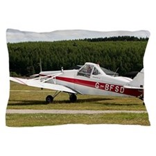 Low wing tricycle glider tow plane Pillow Case